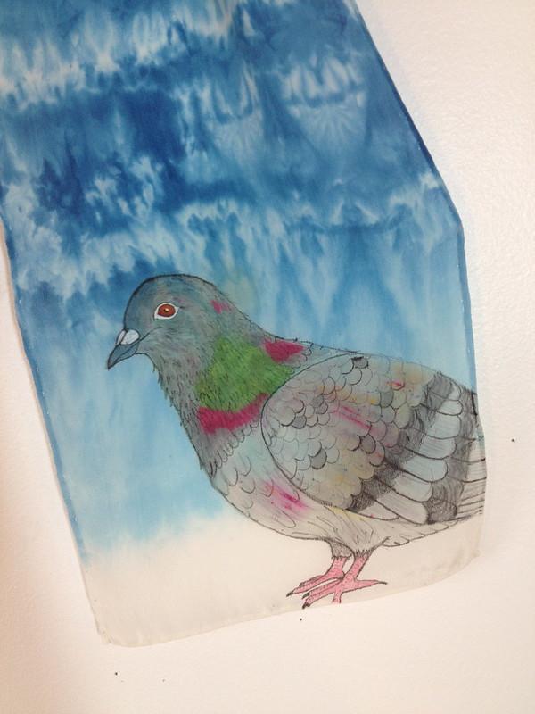 pigeon scarf