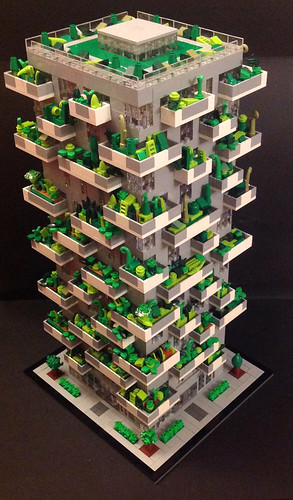 LEGO Bosco Verticale Side View