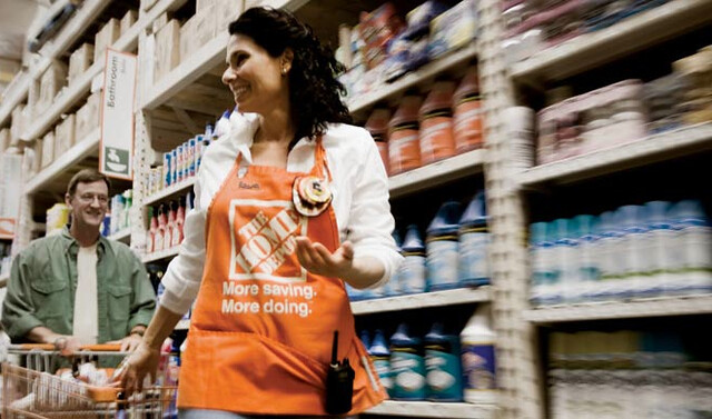 Home Depot has been looking for ways to optimise the customer experience and improve its sales