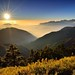 Sunset at Mountain Hehuan 合歡夕色