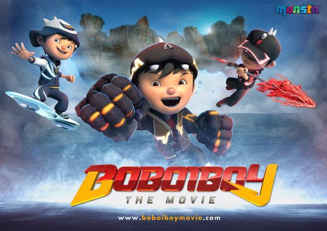 Teaser Poster Boboiboy The Movie