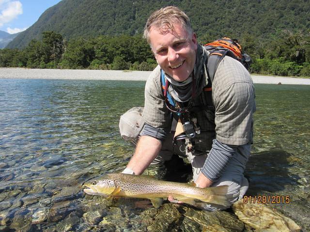 Fly Fishing New Zealand at Cedar Lodge