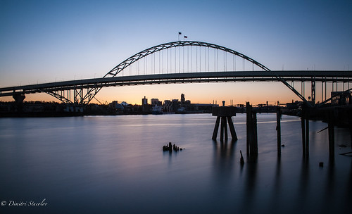 longexposure oregon sunrise portland landscape early earlymorning nd portlandor freemont freemontbridge naturaldensityfilter dimitristucolov dimitristucolovphotography