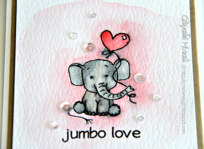 Jumbo love closeup