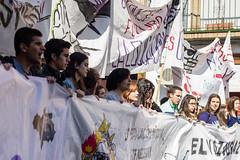 Manifestación contra el Decreto 3+2, Sevilla