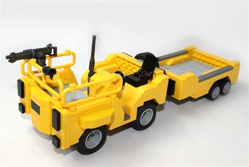 Lego Halo Reach Cart: No Figs