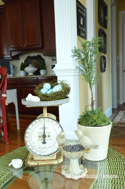 Cypress Topiary Vignette-Housepitality Designs