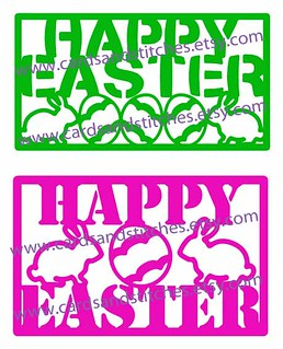 Happy Easter Digital Cutting File