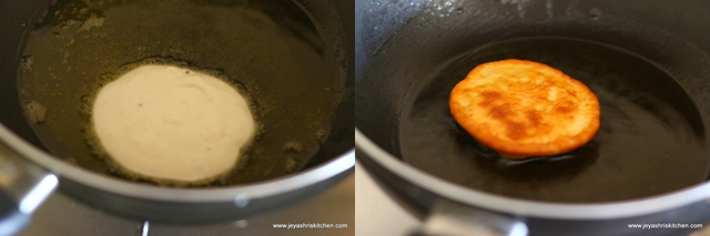 shallow-fry malpua