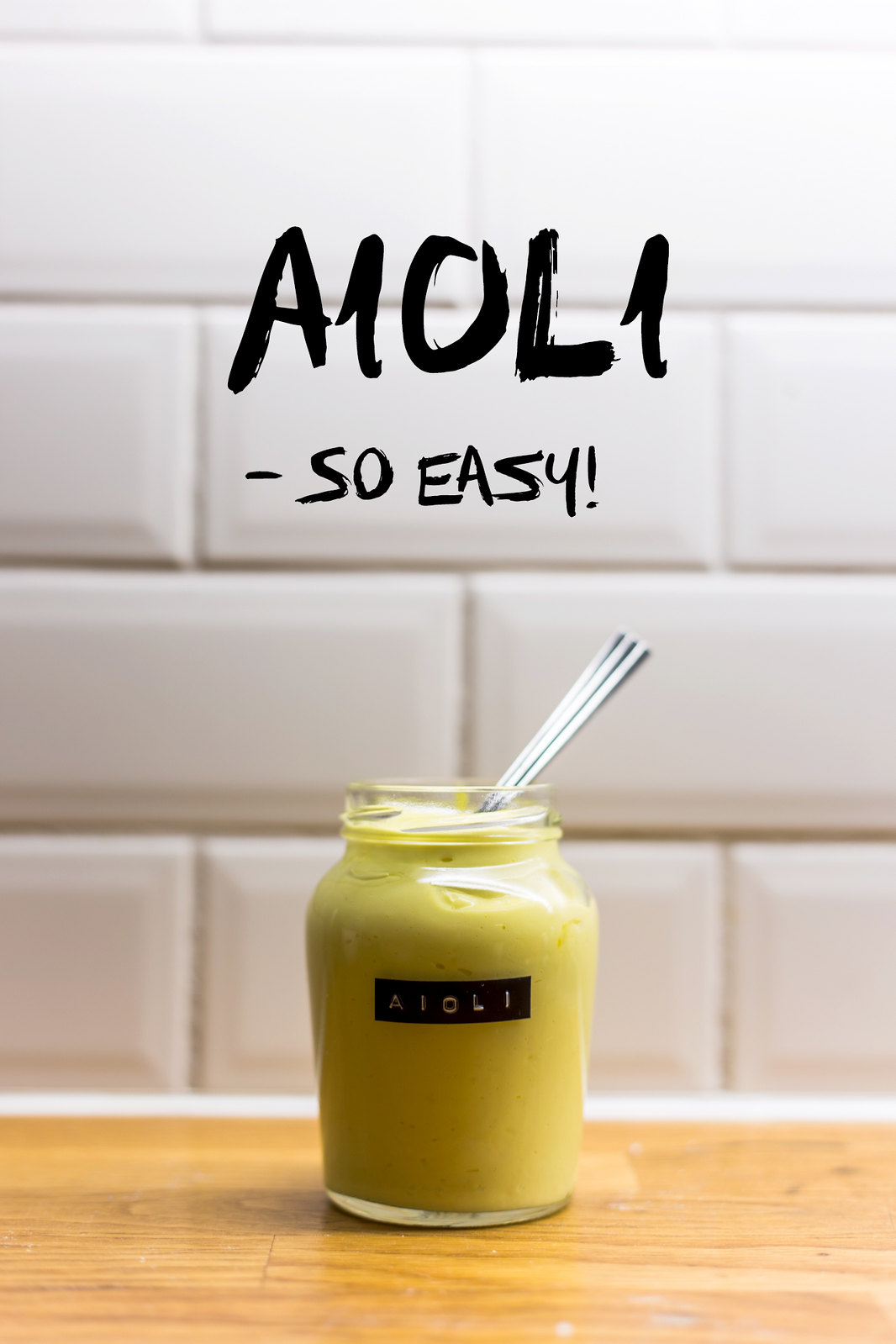 Homemade Aioli