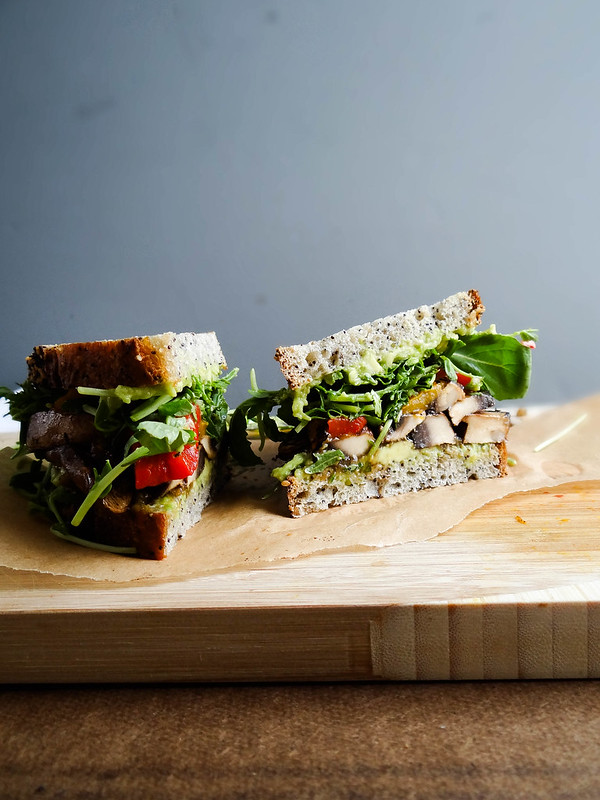 green monster // a sandwich