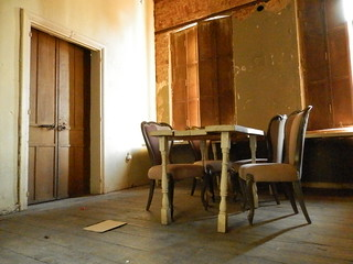 One of the rooms used to provide accommodation to travelers.