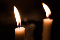 decor, flameless candle, candle, light, darkness, flame, lighting,