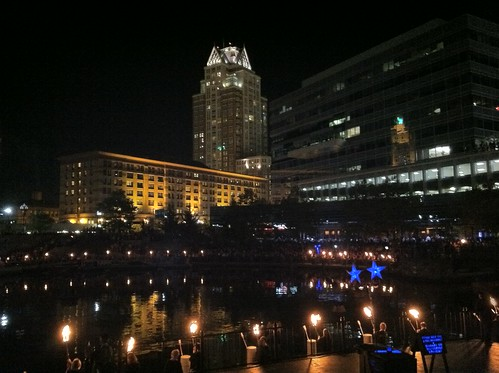 WaterFire by ArtFan70, via I {heart} Rhody