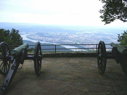 Point Park Lookout Mountain Battlefield Tennessee