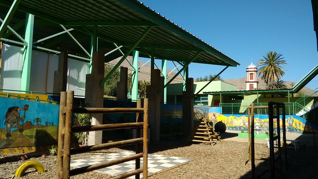 Peralillo School, Valle de Elqui, Chile
