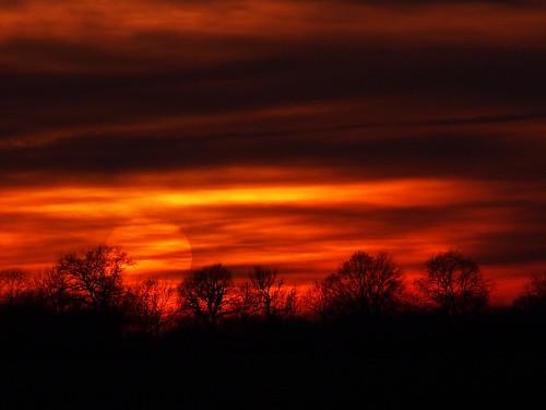 sky sun colors sonnenuntergang eveningsun himmel sonne märz farben abendsonne 2015 ooc todayssunset pönitzersee ostseeleuchte