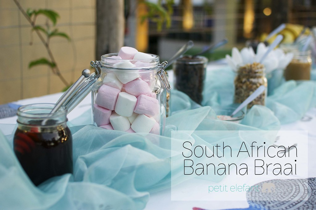 south african banana braai