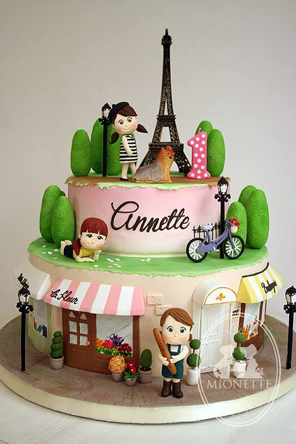 Parisian Girls by Mionette Cakes