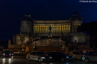 The Altare della Patria by night