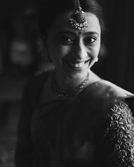 Meghana all set to get married. Chennai, 2016.