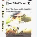 Indoor U10-, U13-Turnier 2014