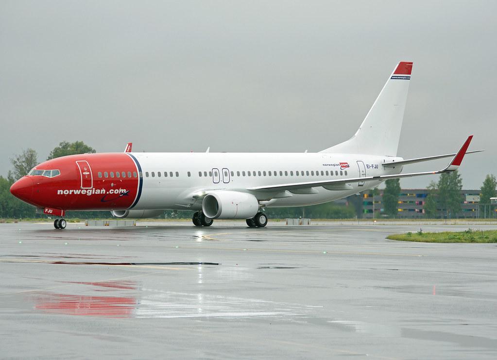 EI-FJU - B738 - Norwegian