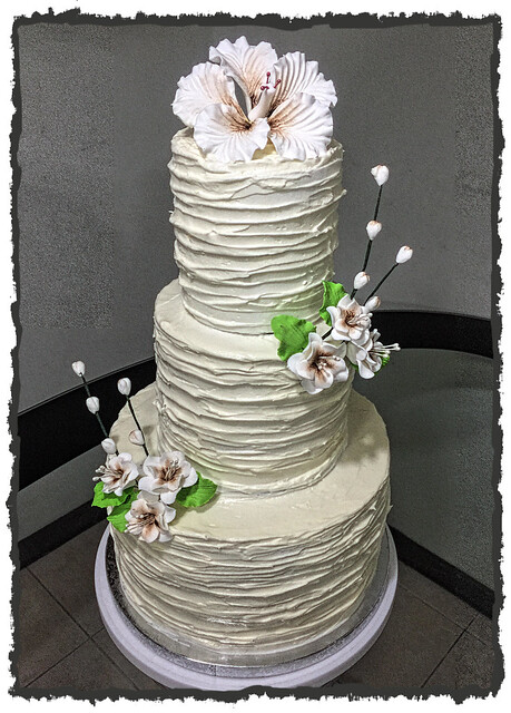 Rustic Wedding Cake by Annalyn Raguindin of Anne Sweet Cakes and Pastries