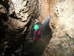 Helen just below the 8 foot slide Image