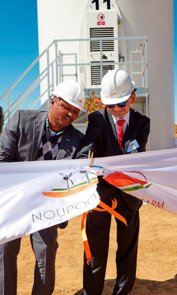Noupoort Wind Plant official inauguration
