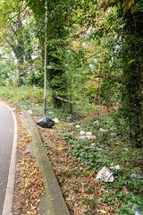 London loop rubbish