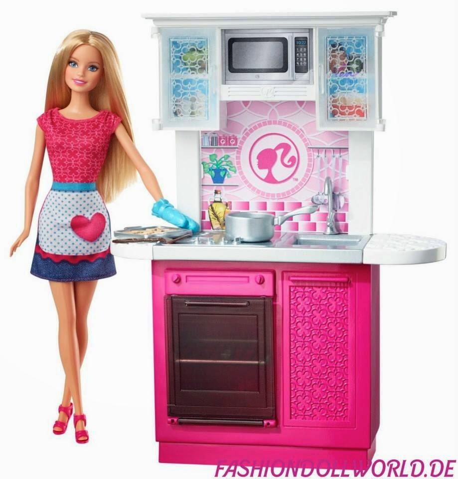 Barbie Kitchen Playset 2015