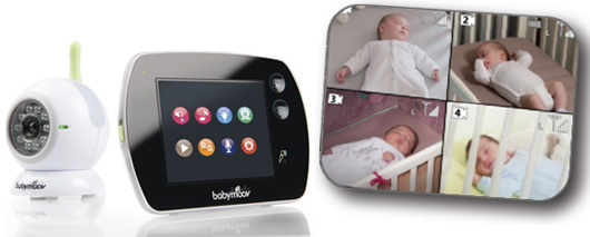 test produit le babyphone touch screen de babymoov desperatecouchpotatoe. Black Bedroom Furniture Sets. Home Design Ideas