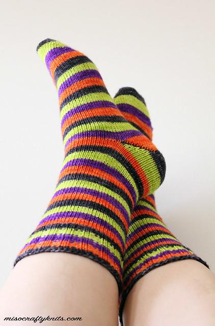 Halloweenie Socks - Heel