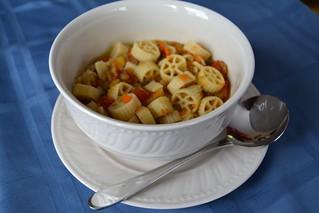 Lentil and Noodle Soup
