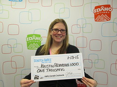 Kristen Alvarado - $1,000 Happy Camper Cashword