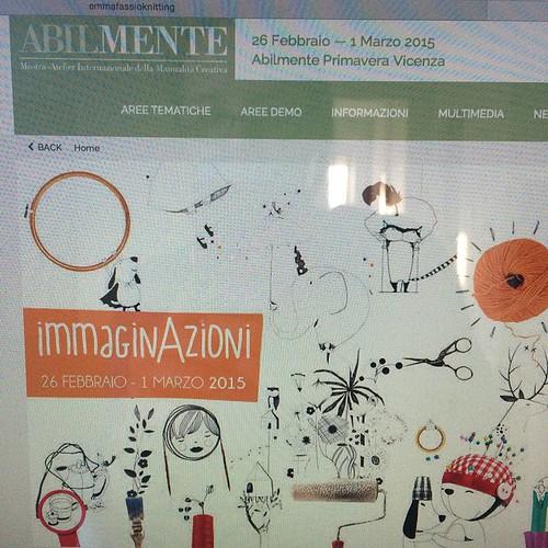 Ci sarò anch'io :) I'll be there too:) Abilmente Vicenza Primavera