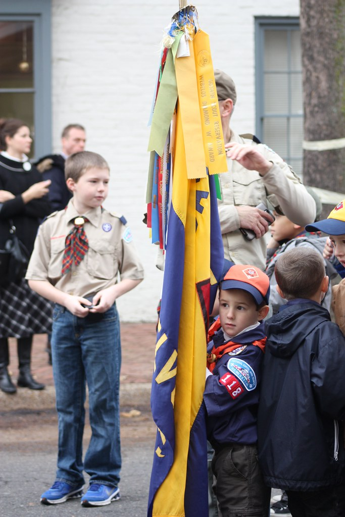 Scottish Parade Boy scout