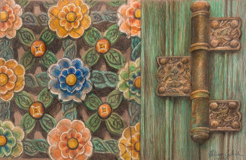 Flowers and Hinges