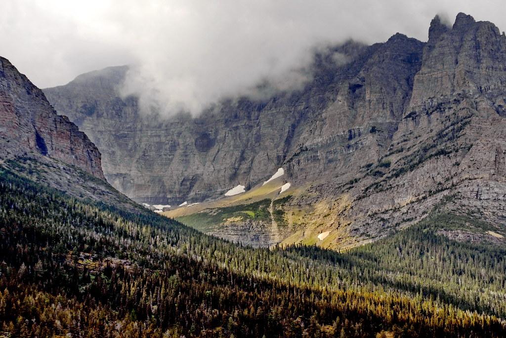 Elevation Of Saint Mary Lake Montana Usa Topographic