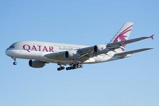F-WWSG / A7-APD - Airbus A380-861 - Qatar Airways - msn 160