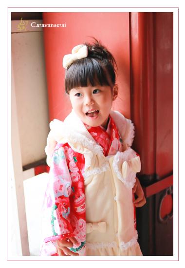 七五三写真撮影 フラリエ(旧ランの館) 大須観音 名古屋市中区 出張撮影 ロケーション撮影 着物 家族写真