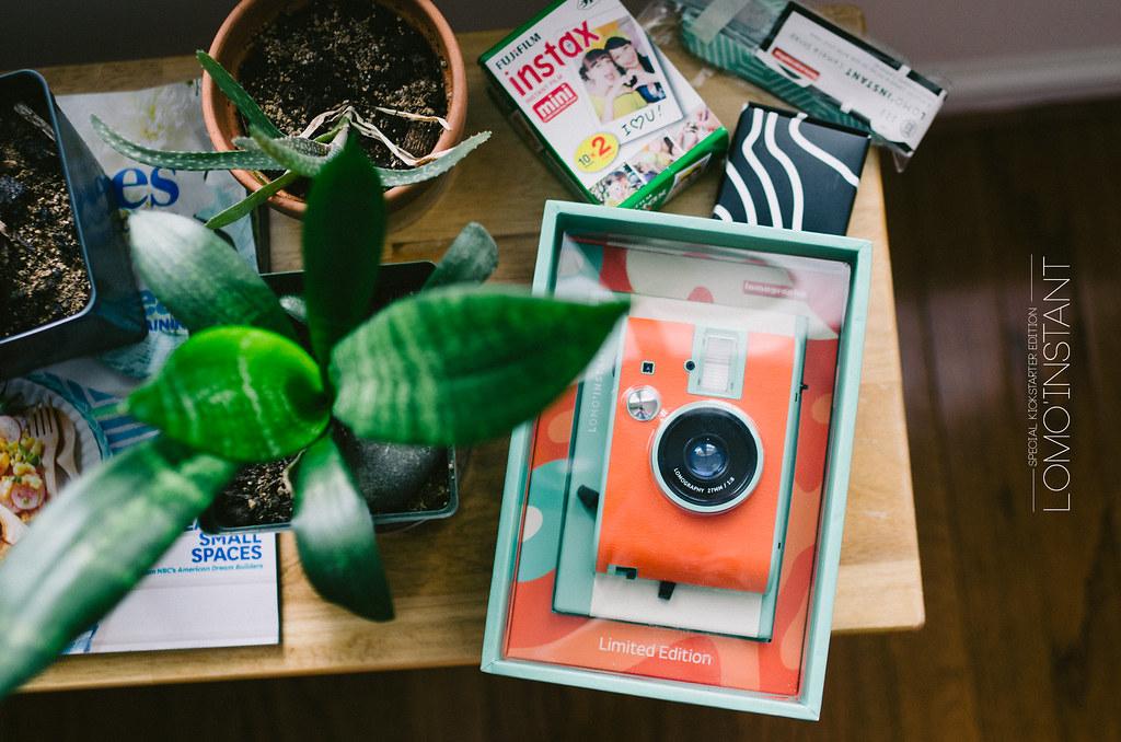 這可以算底片機嗎? Lomography lomo'instant kickstarter edition