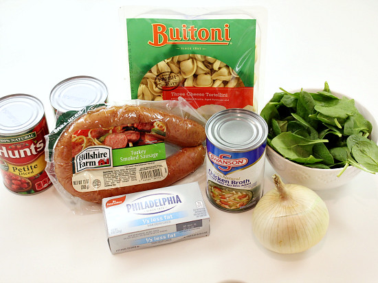 Hi Sugarplum | One Pot Tortellini & Sausage