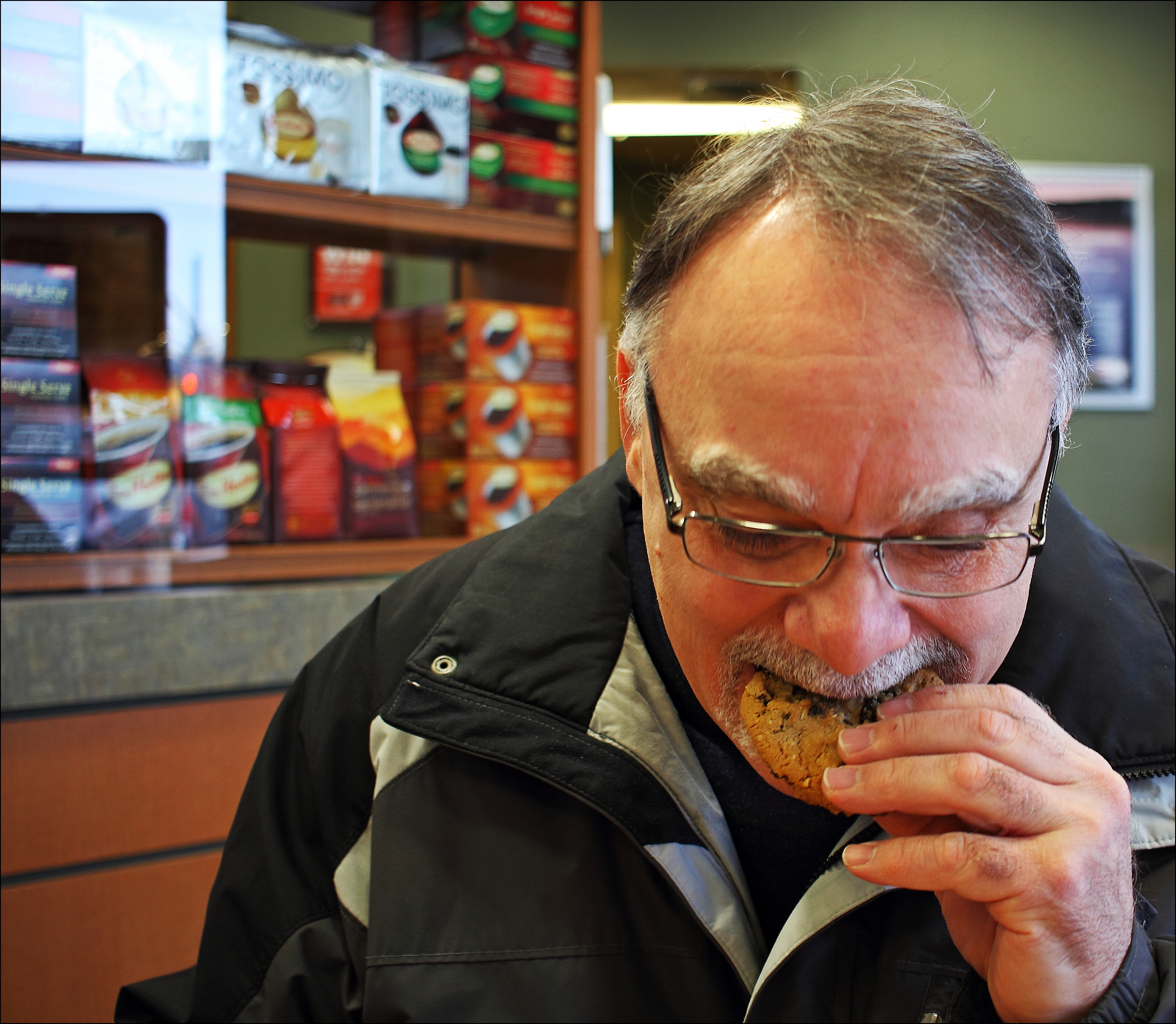 Timmy's Cookies YUM. cookies, canon, tim, eating, daryll, hortons, 60d. buy photo