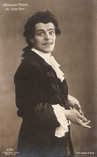 Alexander Moissi as Franz Moor