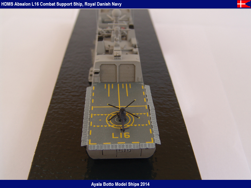 HDMS Absalon L-16  Navire de Soutien Multifonctions - NNT 1/700 16022120674_20b6acd8be_c