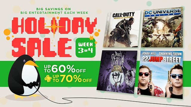 PS Store: Holiday Sale week 3
