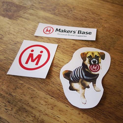 フェイブックでチェックインして、Makers' Baseステッカーをもらいました。
