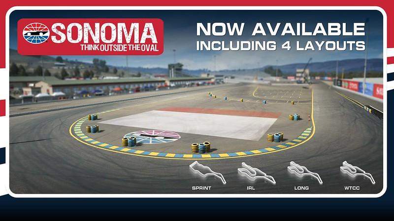 R3E Sonoma Raceway